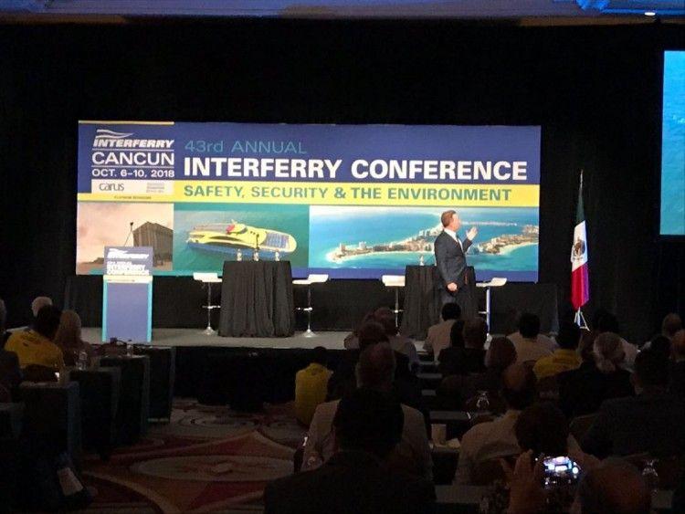 La 43ª edición de Interferry se celebra este año en México