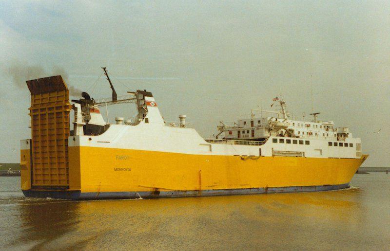 """Rebautizado """"Faroy"""" (1987-1989)"""