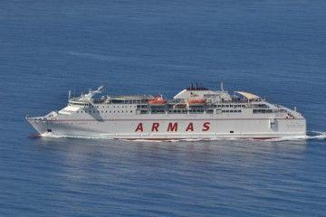 """El ferry """"Volcán de Tijarafe"""" enlazará  Gandía-Ibiza-Palma a partir del 11 de noviembre"""