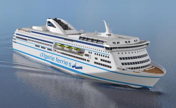 Esta será el aspecto exterior del futuro buque que ENMTV construirá en China