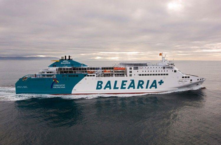 """El ferry """"Martin i Soler"""" cubrirá la línea Hueva-Canarias"""