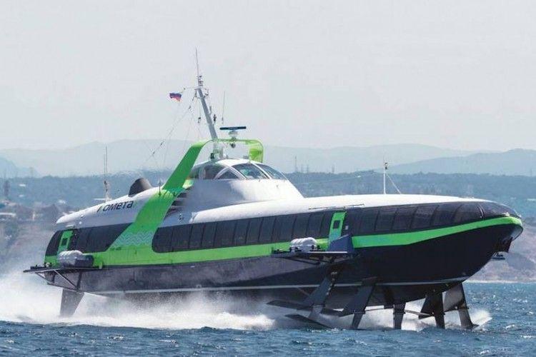 Esta es la nueva generación del hidrofoil ruso Kometa