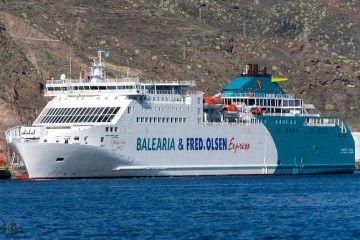 """El buque """"Martín i Soler"""" figura entre los cinco de Balearia que serán remotorizados a gas natural"""