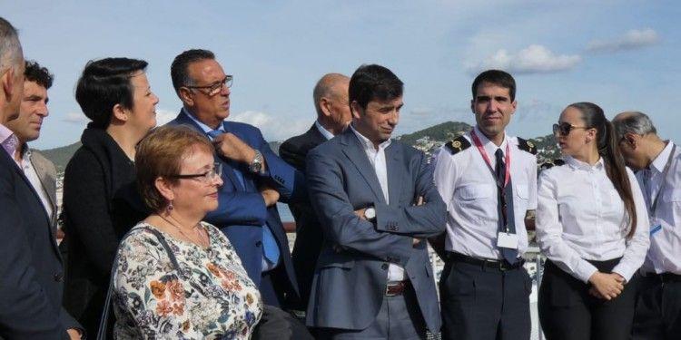 Elena López, Juan Pablo Marrero y Miguel Pardo, entre los asistentes