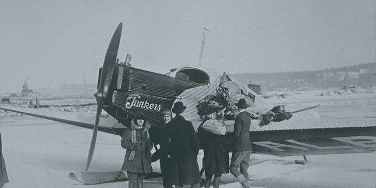 Junkers F-13. Una imagen de 1924