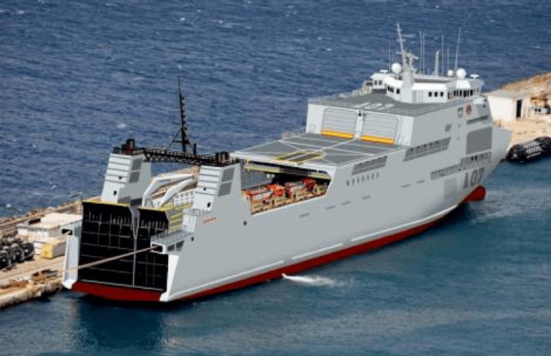 El buque propuesto está en servicio y tiene diversas posibilidades de transformación