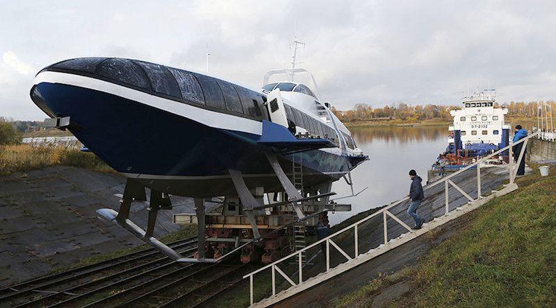 Rusia vuelve a construir hidro-foils después de dos décadas