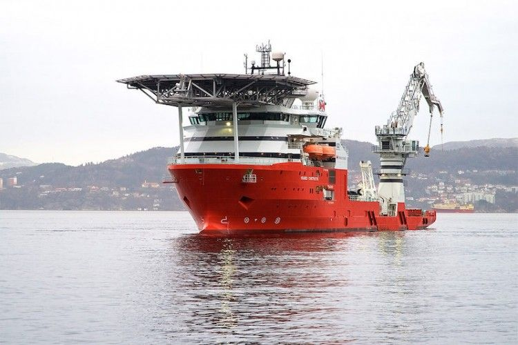 """Este es el buque """"Seabed Constructor"""", desde el que se ha localizado al submarino ARA """"San Juan"""""""