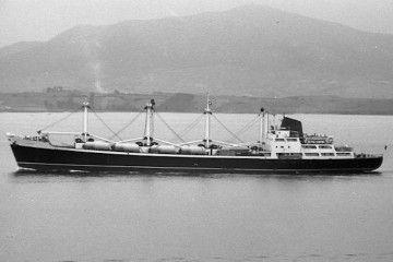 """El buque """"Coromoto"""", en el que sucedió la avería comentada y resuelta"""