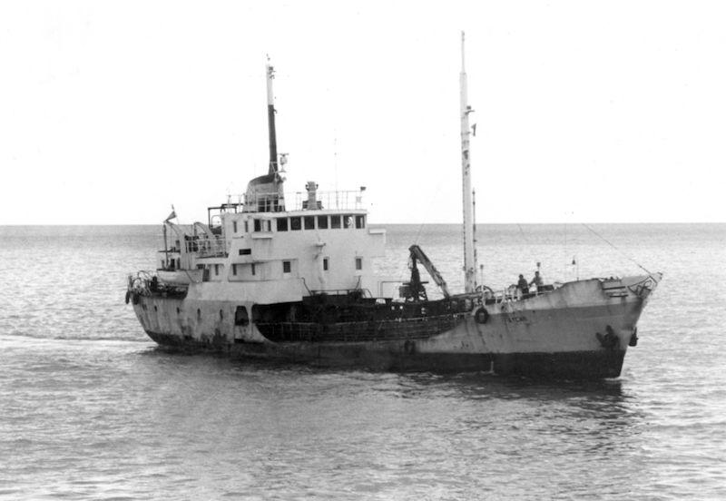 """El primer """"Faycán"""", ex """"Campofrío"""", adquirido en 1973 a CAMPSA"""