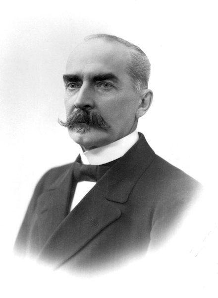 Kaarlo J. Ståhlberg (1865-1952), primer presidente de Finlandia (1919-1925)
