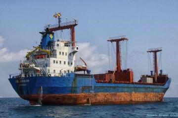 """En su última etapa, el buque """"Lobeira"""" navegó con el nombre de """"GB Aegean"""