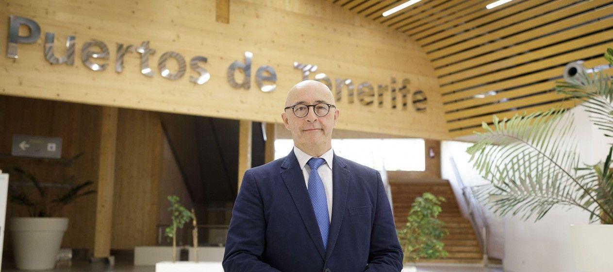Pedro Suárez López de Vergara, presidente de la Autoridad Portuaria de Santa Cruz de Tenerife