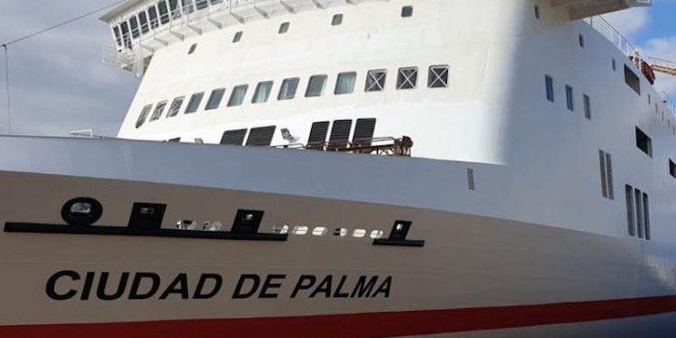 Es el quinto buque con este nombre en la historia de Trasmediterránea