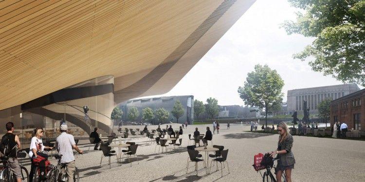 El estudio ALA Architects ganó el concurso a nivel mundial