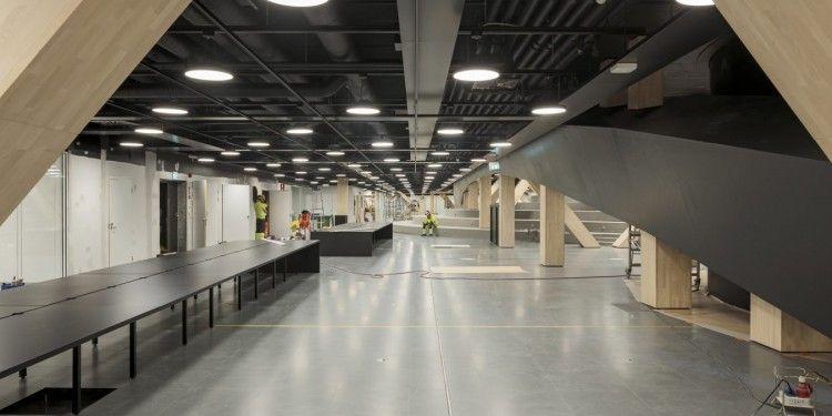 Oodi. Soluciones arquitectónicas de vanguardia resuelven los espacios