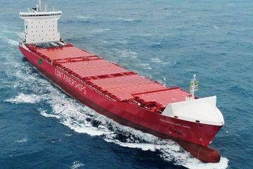 """""""Containerships Nord"""" es el primero de los cuatro buques construidos en China"""