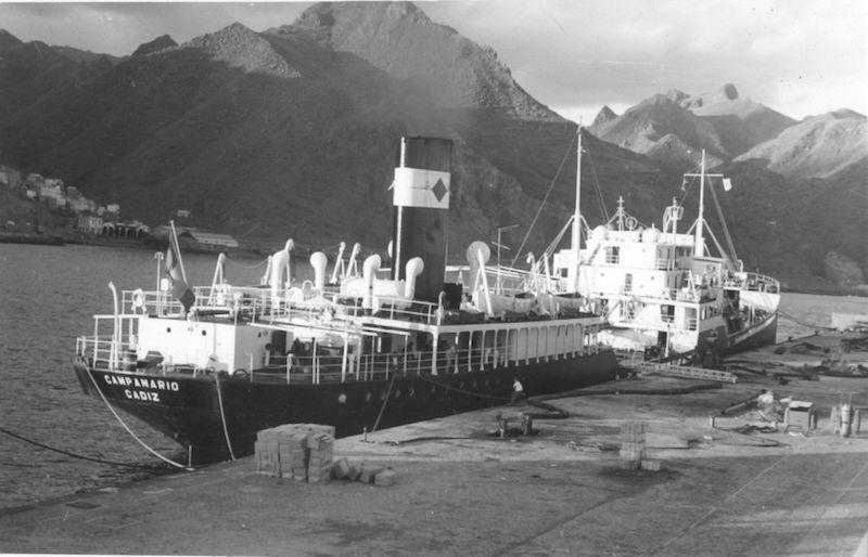 """El petrolero """"Campanario"""" pertenecía a la matrícula naval de Cádiz"""