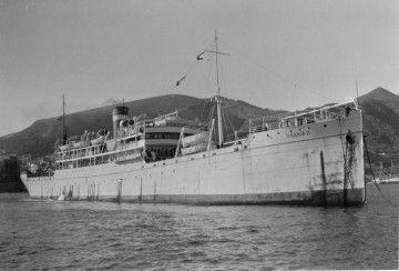 """El trasatlántico """"Urania II"""", en una de sus últimas escalas en Tenerife"""