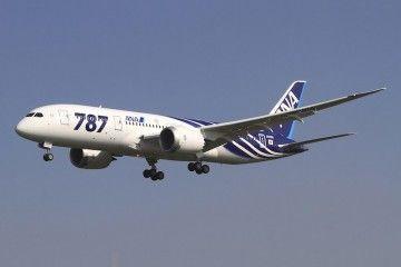 El avión B-787 Dreamliner , estrella del fabricante norteamericano