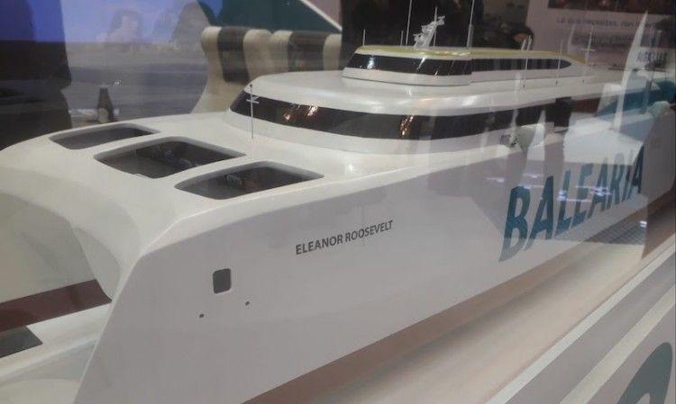 El futuro catamarán es un modelo Austal que será construido en Astilleros Armón