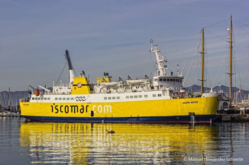 """El buque """"Nura Nova"""" llegó a España de la mano de Iscomar"""