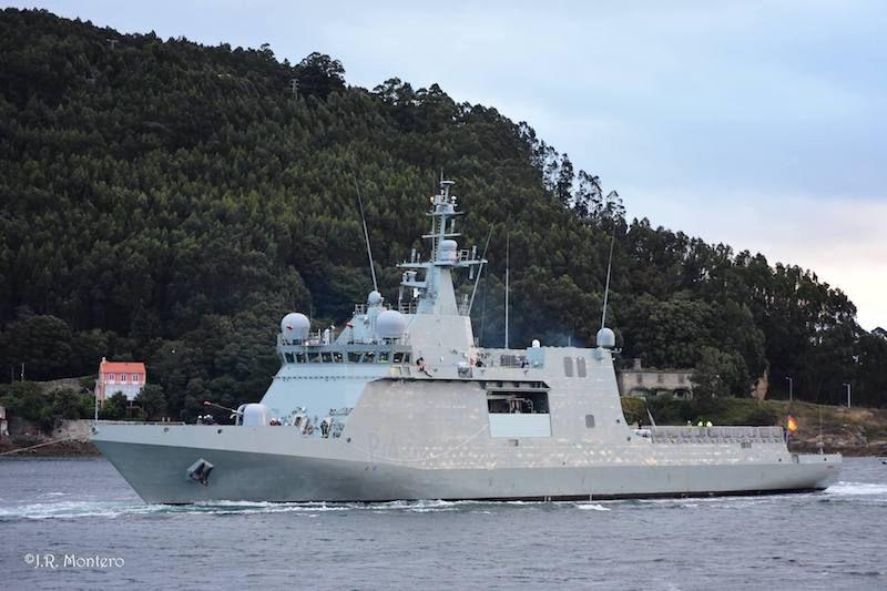 """El BAM """"Furor"""" sale a  pruebas de mar"""