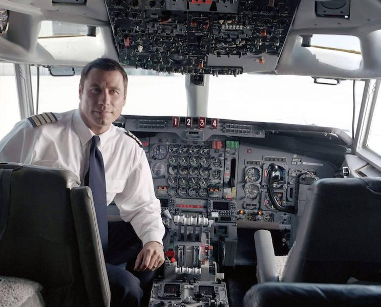 John Travolta pilotó su propio avión Boeing B-707