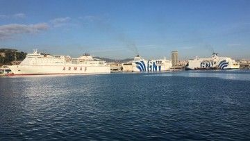 El Grupo Armas y GNV fortalecen sus vínculos en el puerto de Barcelona