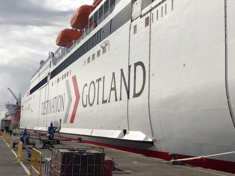 Destination Gotland es el nombre comercial de la línea que cubrirá el nuevo buque