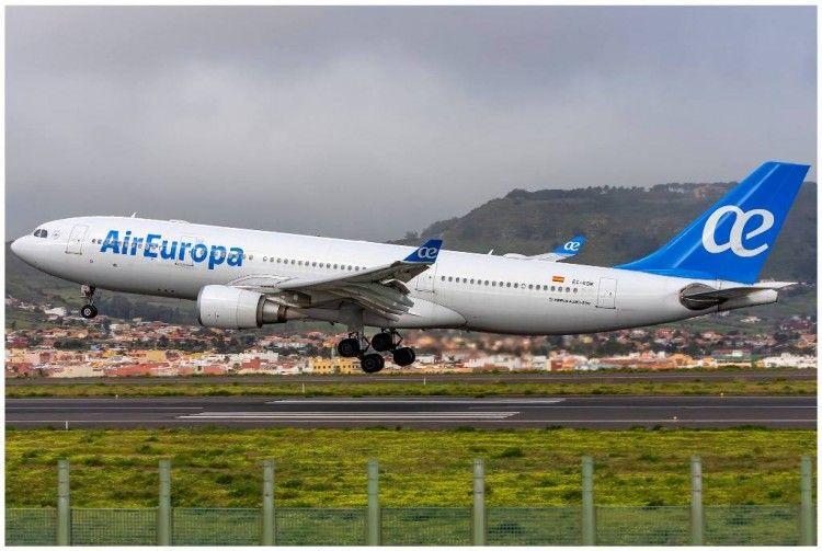 Air Europa mantiene su programación en la línea Madrid-Caracas