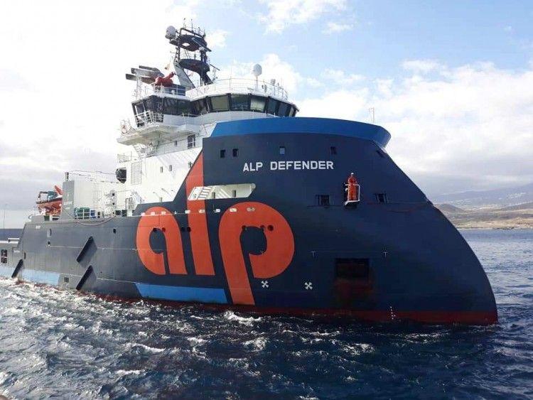 """Este es el remolcador """"Alp Defender"""", el más potente del mundo en su categoría"""