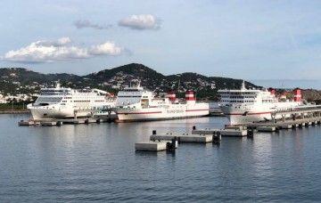 La futura estación  de pasajeros del puerto de Ibiza dará servicio a líneas regulares y cruceros de turismo