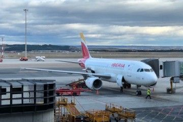"""A319 de Iberia EC-JDL """"Los Llanos de Aridane"""""""
