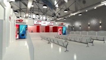 La futura estación marítima de Trasmediterránea en Gandía tendrá este aspecto