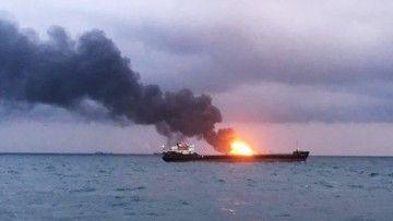 La explosión se ha producido en aguas del estrecho de Kerch