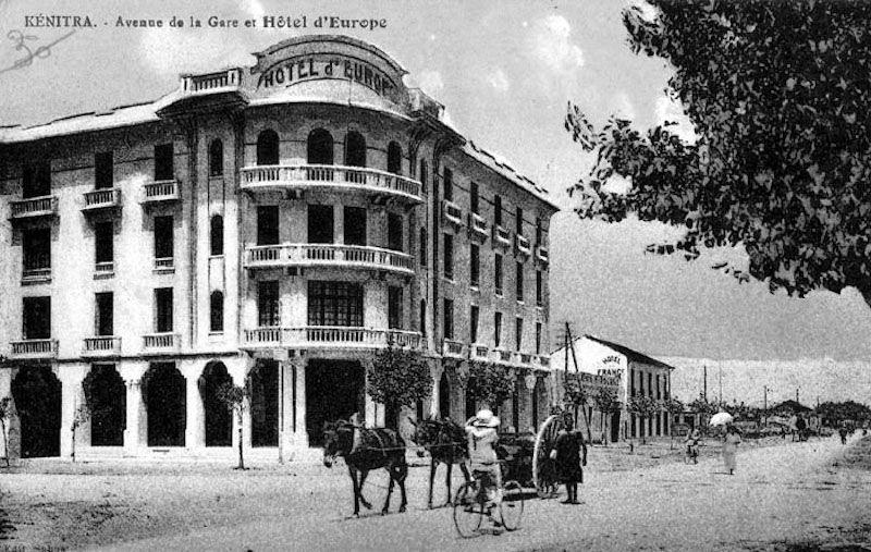 Hotel d' Europe, en la ciudad de Kenitra