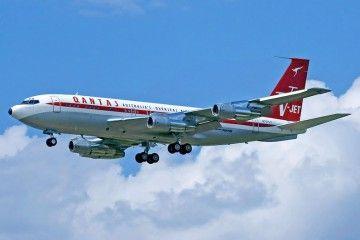 Este avión de belleza extraordinaria, forma parte de la historia del actor John Travolta