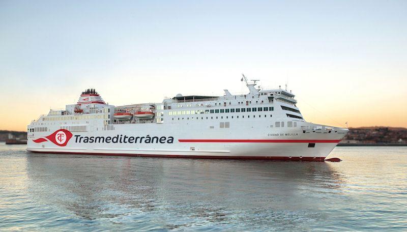 """El buque """"Fortuny"""", nuevo """"Ciudad de Melilla"""""""