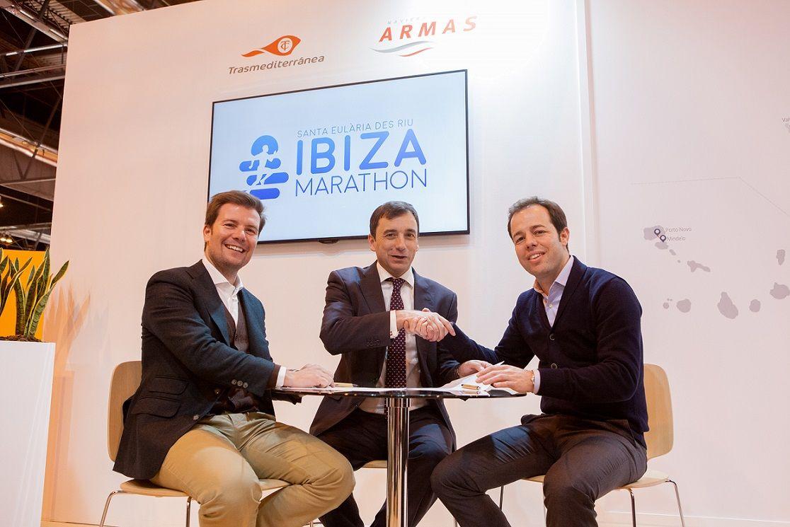 Naviera Armas-Trasmediterránea revalida su compromiso con Ibiza