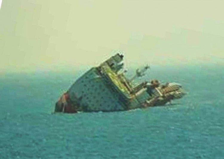 """El buque cablero off shore """"Star Centurion"""" y su peligrosa escora"""