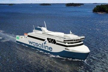 El futuro ferry operará en la línea Vaasa-Umeå, en el golfo de Bothnia