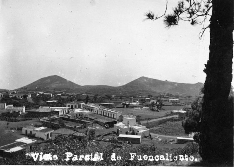 Panorámica del barrio de Los Canarios, a comienzos de la década de los años treinta del siglo XX