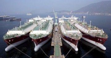 Corea del Sur es líder mundial en la construcción de buques metaneros