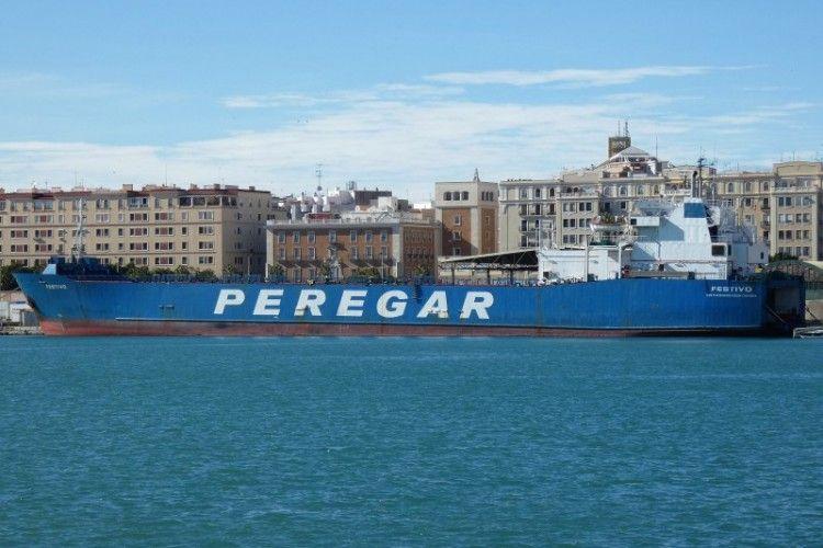 """El buque """"Festivo"""" es propiedad de Marítima Peregar"""