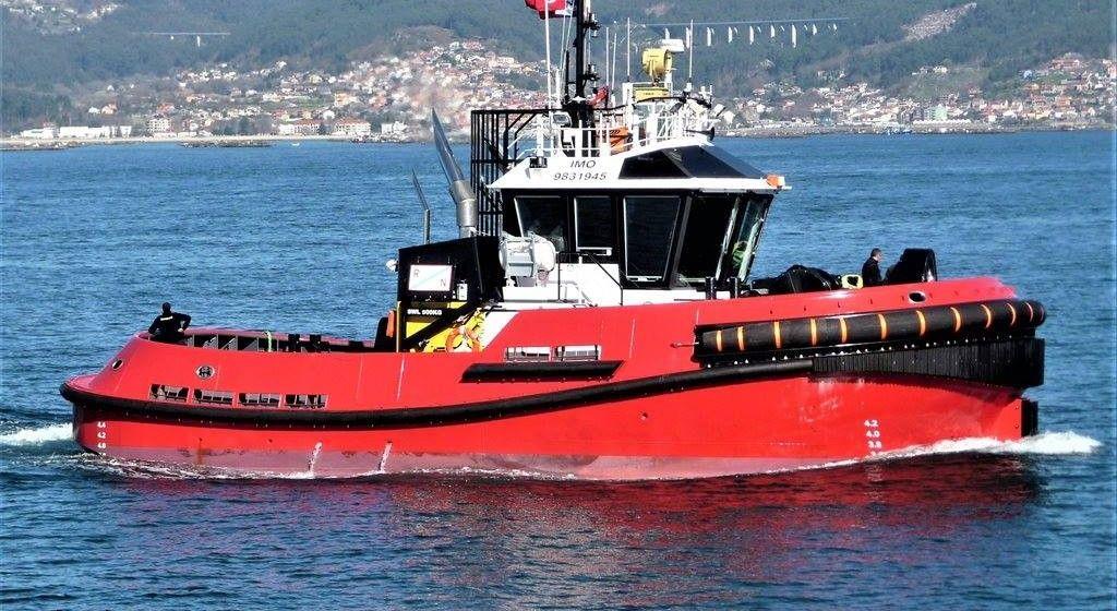 """Esta es la estampa marinera del remolcador """"San Martín"""""""