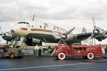 """En sus orígenes, este avión de TWA ostentó el nombre de """"Star of Madrid"""""""