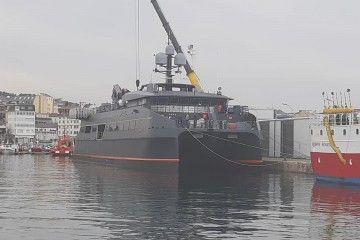 """Este es el aspecto exterior del catamarán """"Hodor"""""""