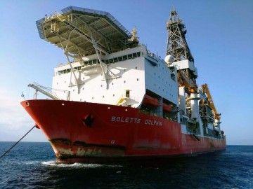 """El buque """"Bolette Dolphin"""" se queda en el puerto de Las Palmas de Gran Canaria"""