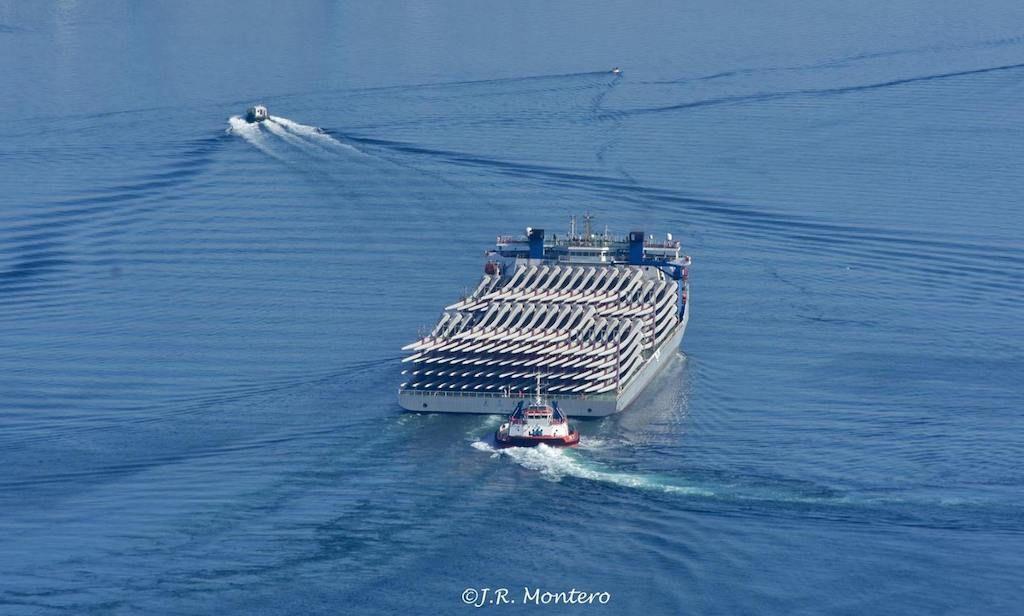 La descarga se realizará en el puerto de Ferrol